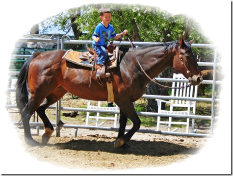 RR Park & Austin trotting by himself 065