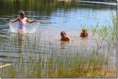 Evan, swimming etc 874