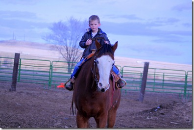 Austin and Cash Riding 005