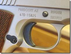 new SR trigger, Keith & I at the range 002