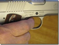 new SR trigger, Keith & I at the range 004