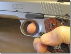 new SR trigger, Keith & I at the range 003