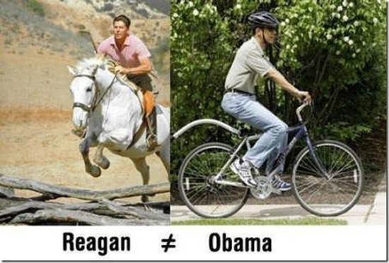 Regan and Obama