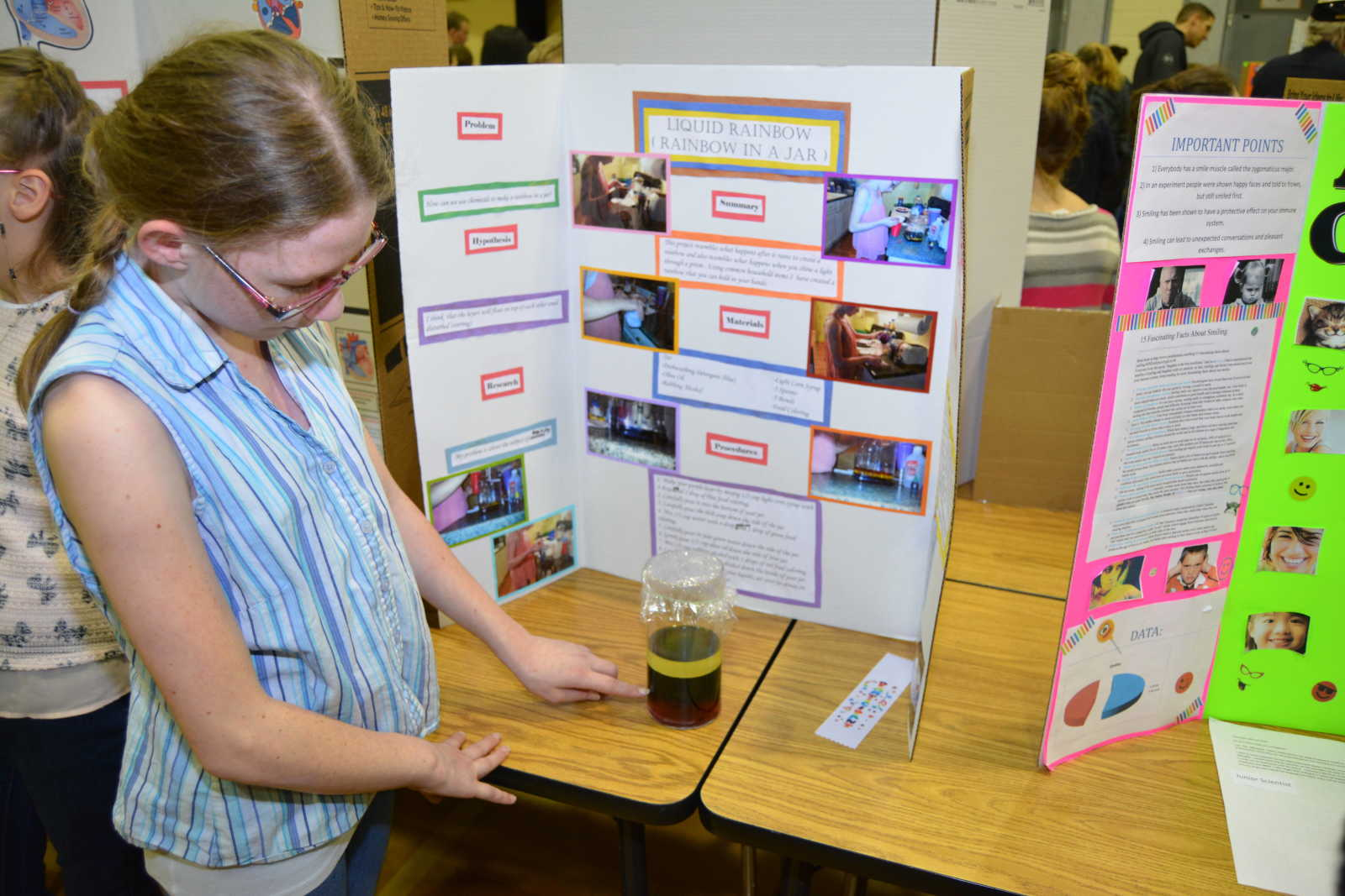 photo gallery hacker middle school science fair mountain home news order this photo