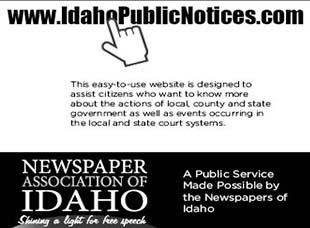 Idaho Public Notices